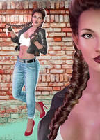 Lisa Hamilton(Casual Mod) Dead or Alive 5 by xXKammyXx
