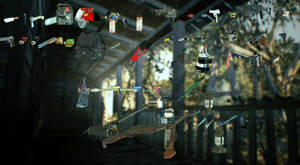 Main weapons from Resident Evil 7