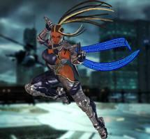 Master Raven (P1) Tekken 7 by xXKammyXx