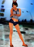 Josie Rizal (Marine) Tekken 7 by xXKammyXx