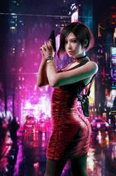 Ada Wong by xKamillox