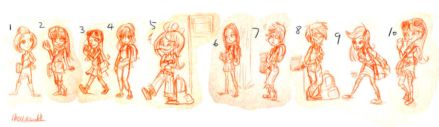 Character Design Up : Character design for up coming children s book by yen