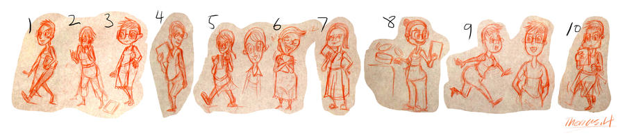 Children S Book Character Design : Character design for up coming children s book by yen