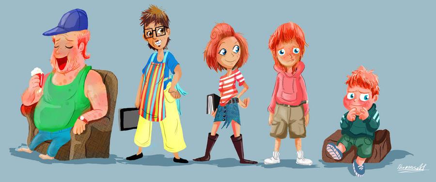 Character Design For Children S Books : Character design for up coming children s book by yen