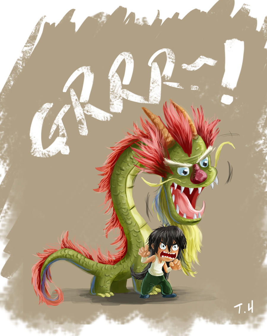 Lets all GRRR like a dragon by yen-wen-hsieh