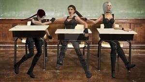 XNA Lara - A normal schoolday