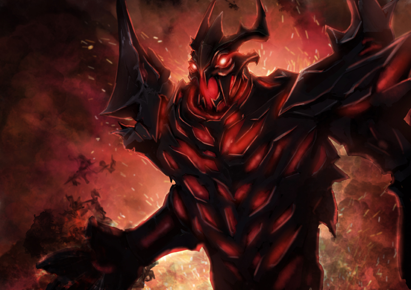 Dota 2 Shadow Fiend Video Games Nevermore Wallpapers HD