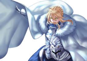 Artoria Pendragon (Lancer) by jacky5493
