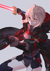 Mysterious Heroine X (Alter) by jacky5493