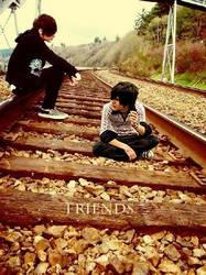 Emo boys like railroads by AyumuXxXchild