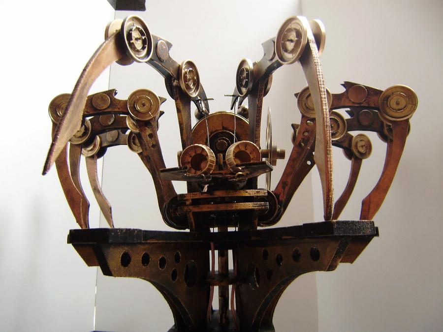 Steam Punk Spider automata