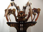 Steam Punk Spider automata