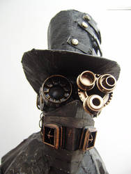 Steam Punk Technomancer mask by impsandthings