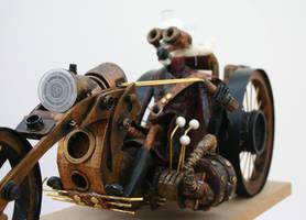 Steam Punk Biker by impsandthings