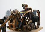 Steam Punk Biker