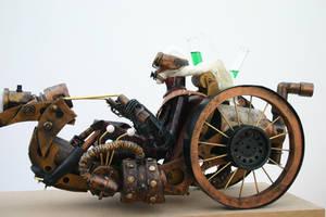 Steam punk biker 2 by impsandthings