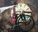 Steampowered Pennyfarthing