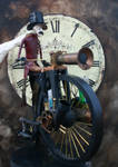 Steampowered Pennyfarthing 2
