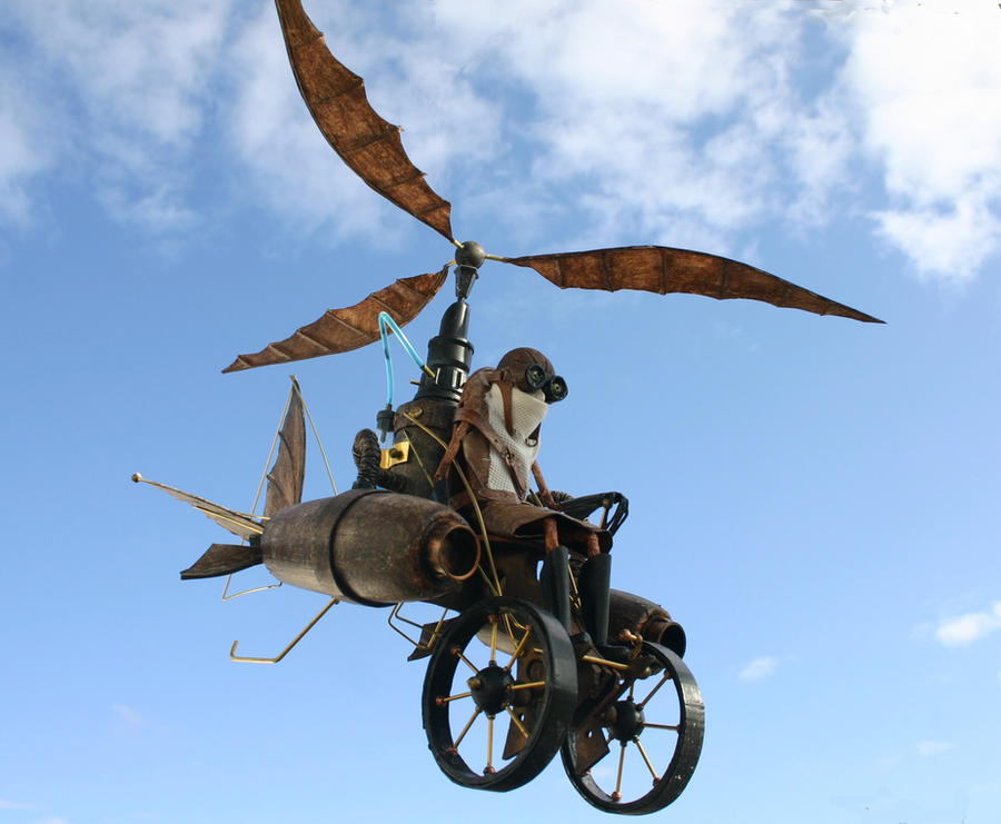 flying machine sculpture for - photo #17