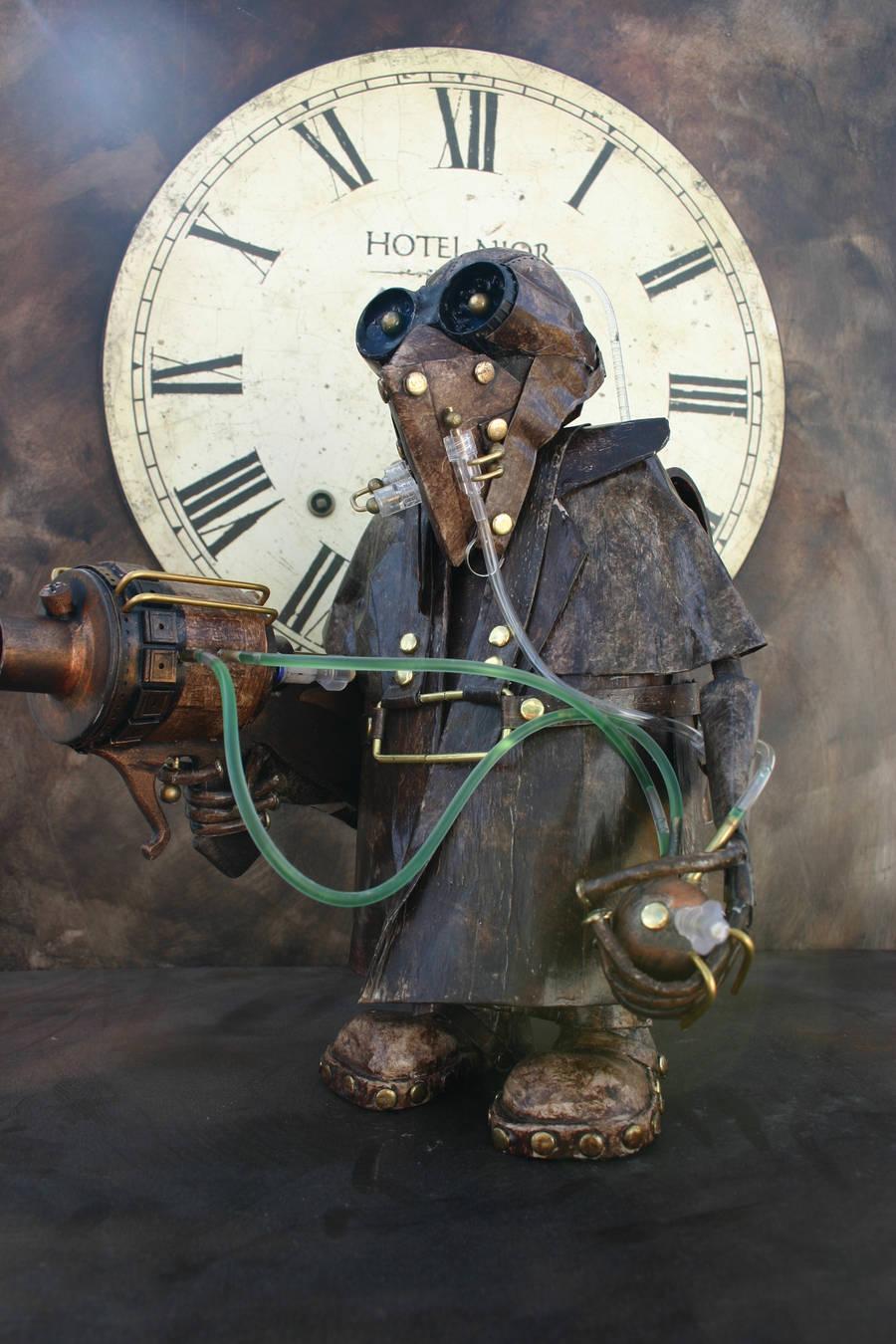 Steampunk stormtrooper by impsandthings