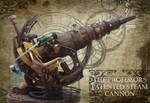 The Professor's Patented Steam Cannon