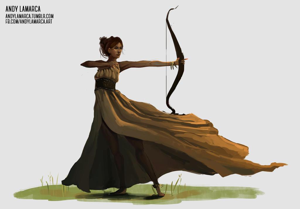 Artemis by andylamarca