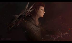 Axel - Kingdom Hearts fanart