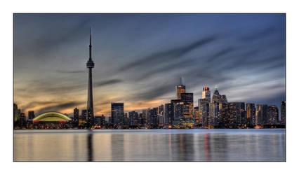 Toronto Twilight by jrstreets