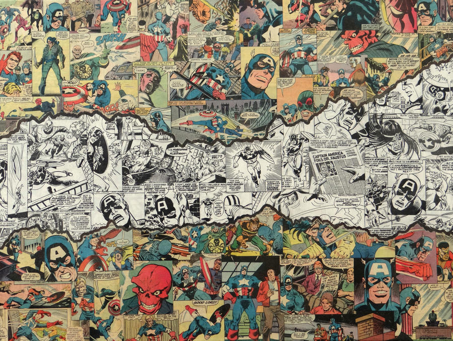 Captain America Torn by MikeAlcantara