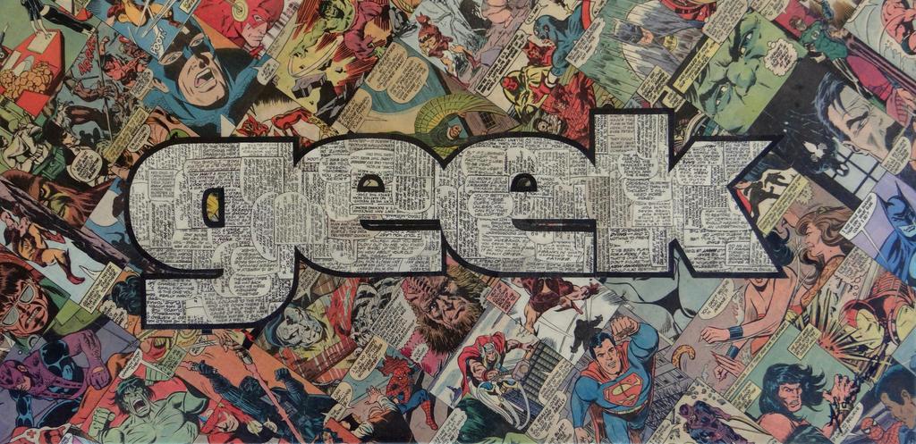Geek Magazine Logo by MikeAlcantara