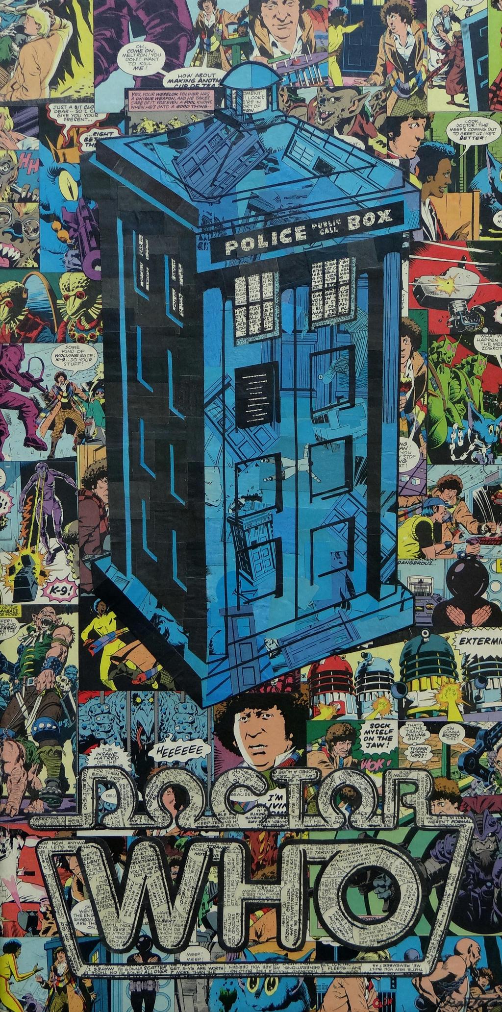 Dr Who Tardis by MikeAlcantara