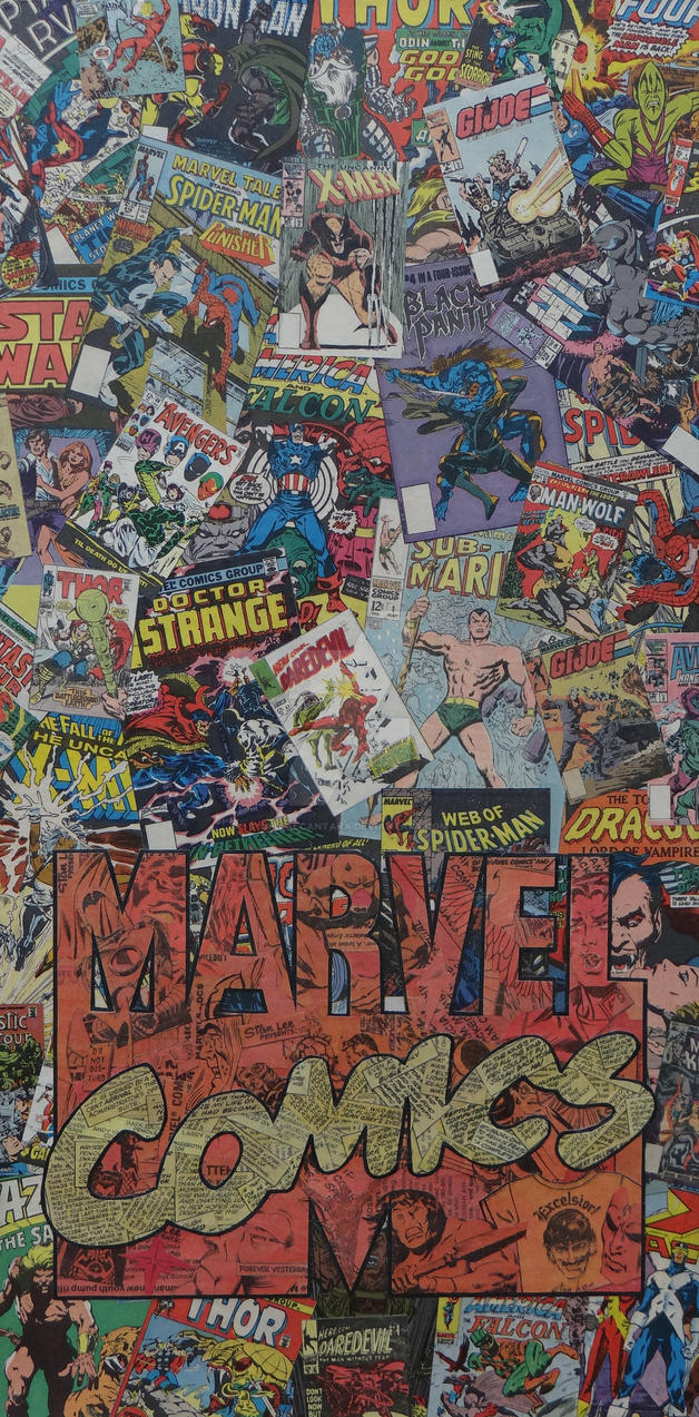 Marvel Comics Logo by MikeAlcantara