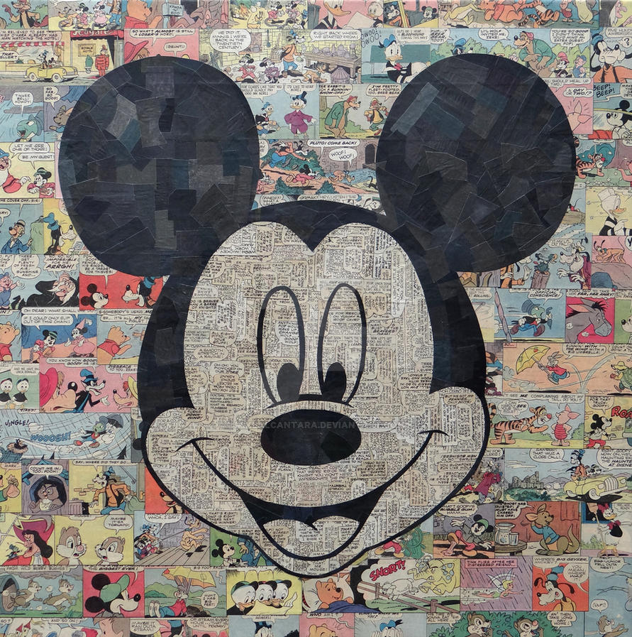 Mickey Mouse by MikeAlcantara