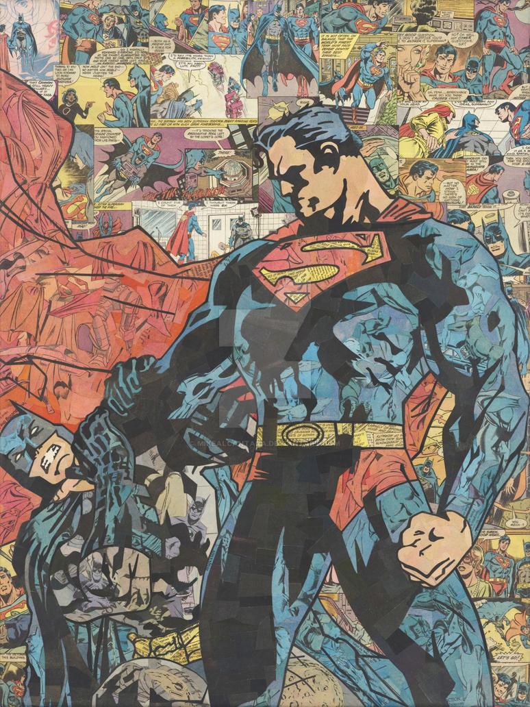 Superman v Batman by MikeAlcantara