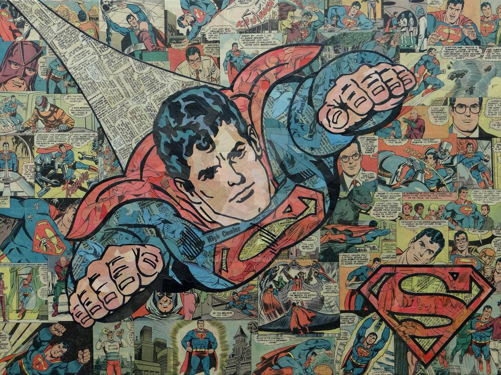 Superman and Logo by MikeAlcantara