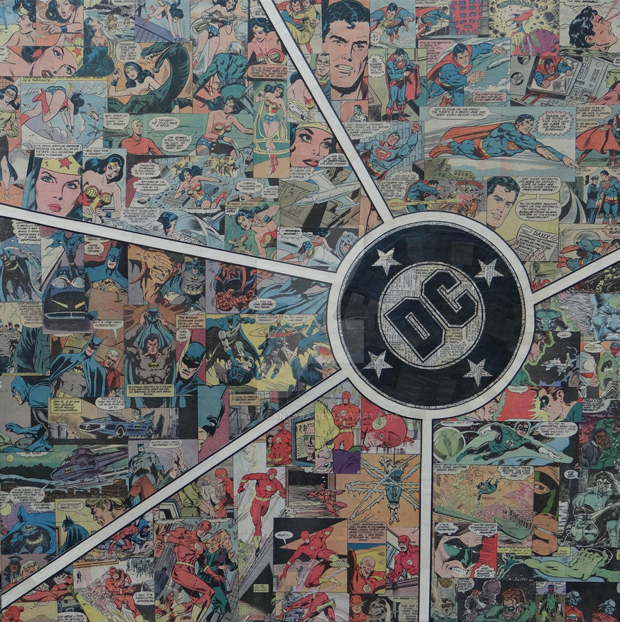 DC Abstract by MikeAlcantara