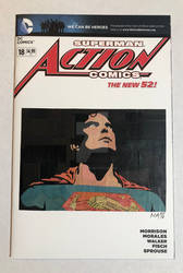 Reeve Comic Cover