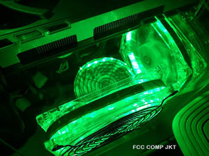 Green PC Fans Modding