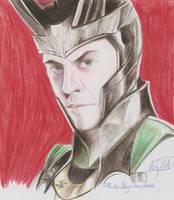 Loki - Tom Hiddleston.1 by SchwarzblutSterne