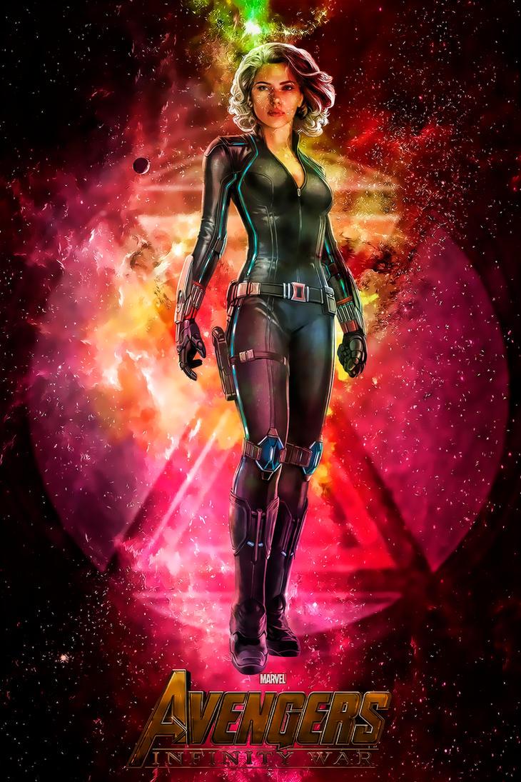 Poster: Infinity War | Black Widow | Heroes by 4n4rkyX on ...