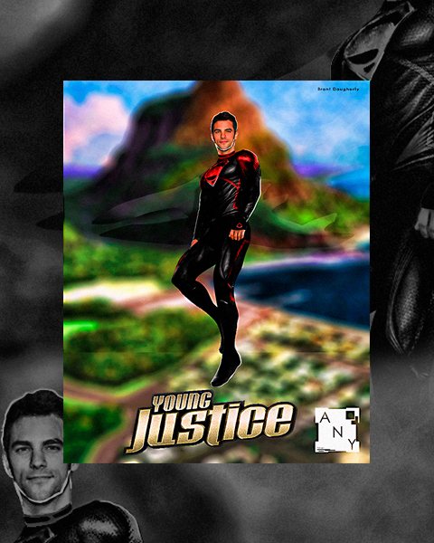 Poster: SuperBoy | Young Justice Series | by 4n4rkyX on ... Young Justice Superboy Wallpaper