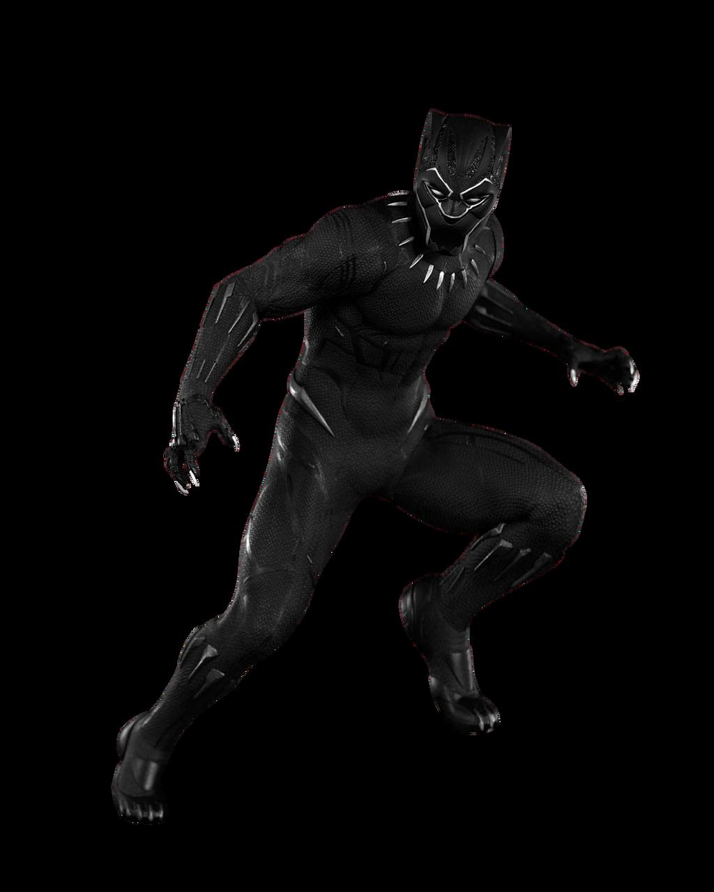 Render: Black Panther | 1 by 4n4rkyX on DeviantArt