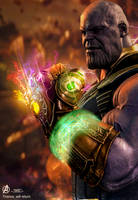 Poster: Thanos will Return by 4n4rkyX