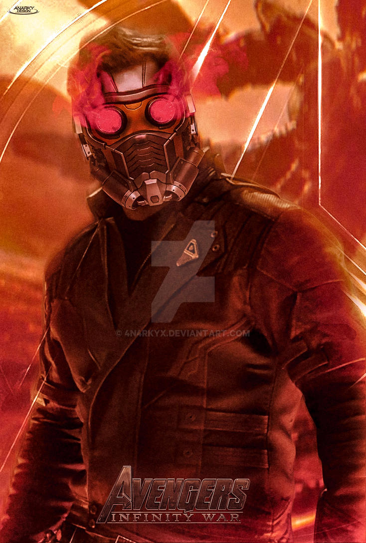 Poster: Star Lord | Avengers Infinity War by 4n4rkyX