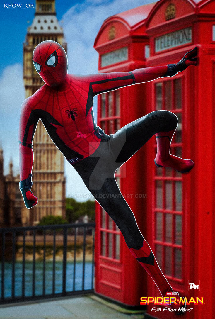 poster: spiderman far from home | suit concept art4n4rkyx on