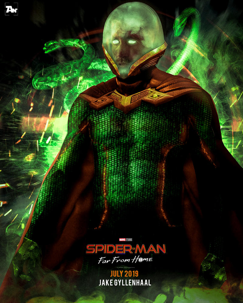Poster: Mysterio | Spider-Man Far From Home by 4n4rkyX
