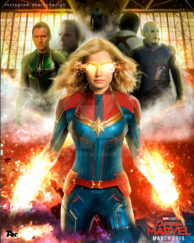 Poster: Captain Marvel | Character's Poster by 4n4rkyX