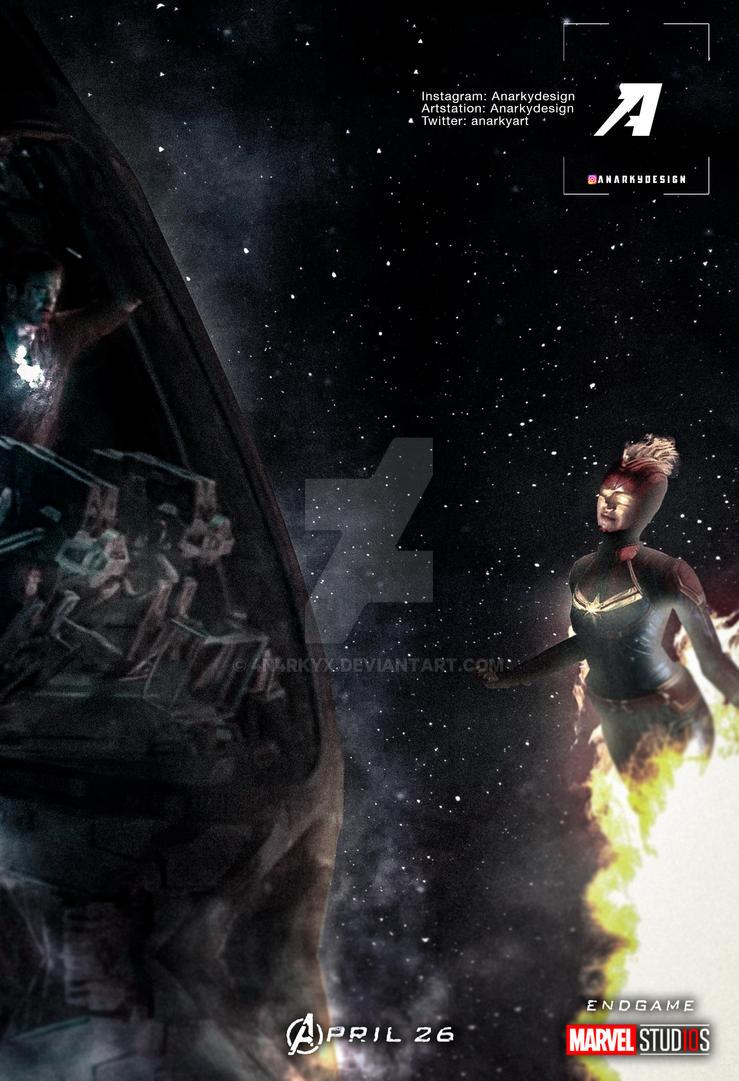 Poster Avengers 4 Endgame I Found It By 4n4rkyx On Deviantart