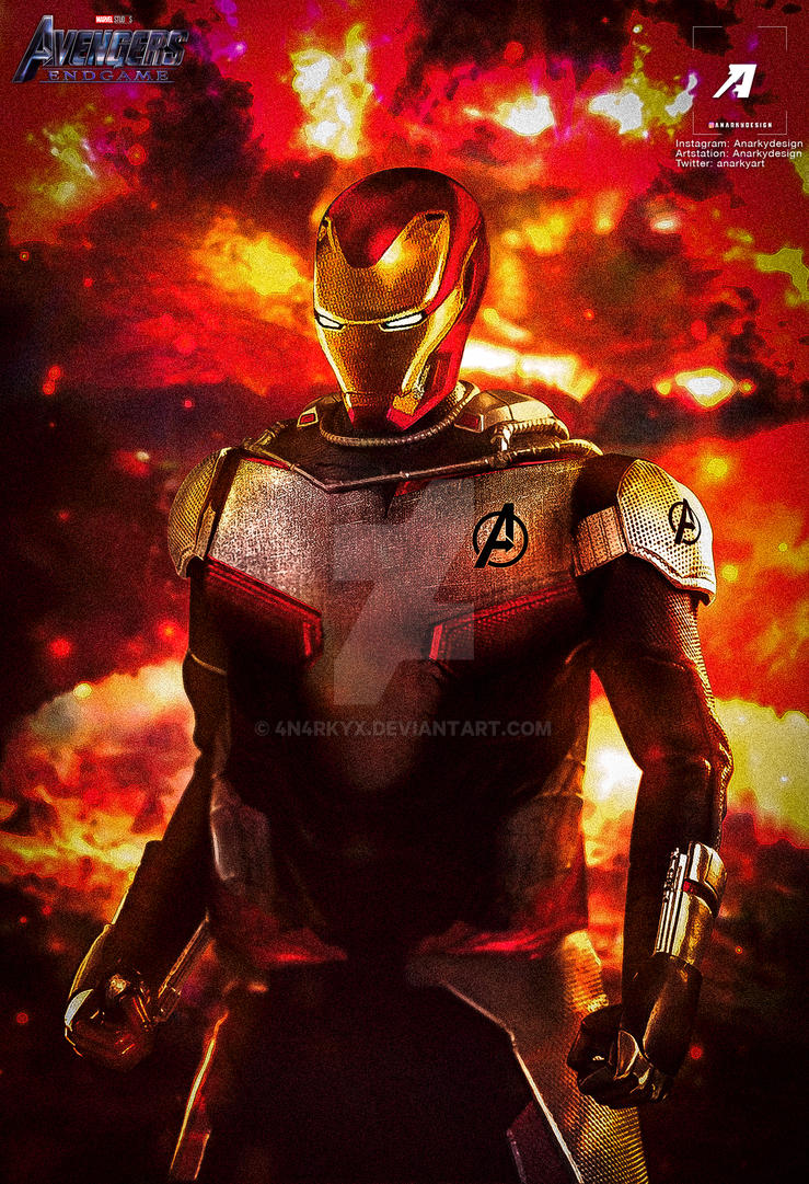 Poster: Iron Man Quantum Real | Avengers 4 by 4n4rkyX