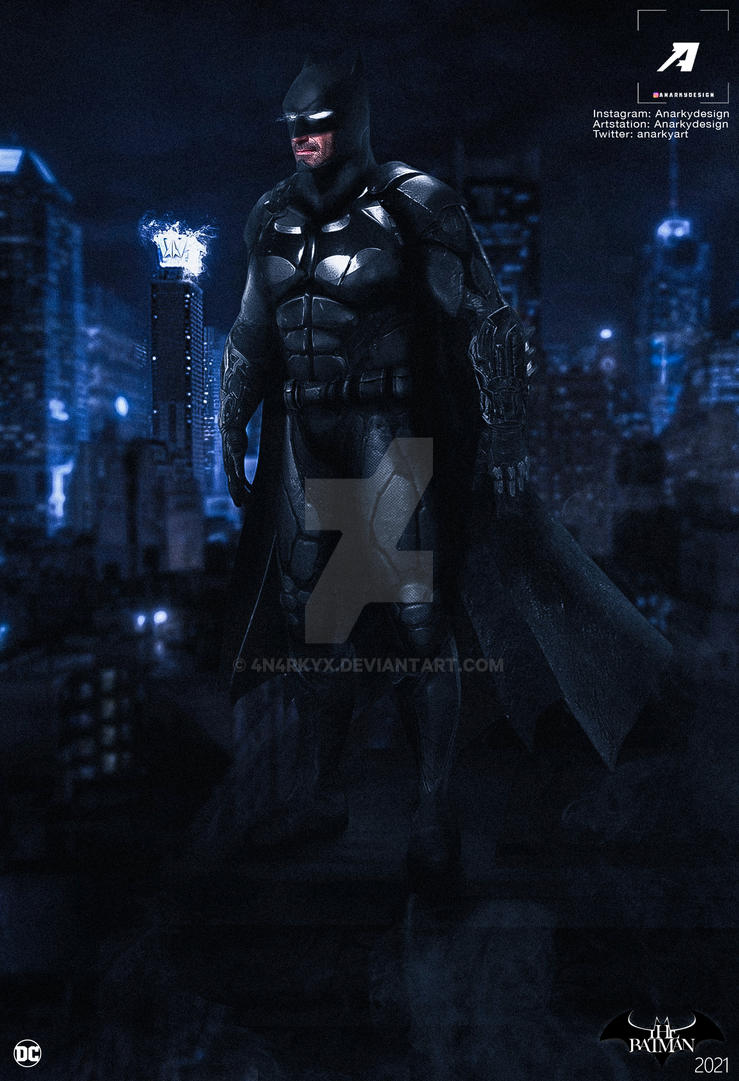 Poster: The Batman Movie by 4n4rkyX